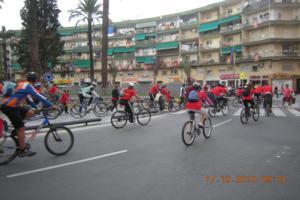 Día de la Bici organizado por la Asociación de Vecinos de la Plaça El·líptica