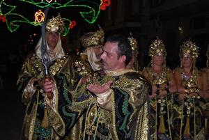 Bellreguard celebra sus fiestas de Moros y Cristianos