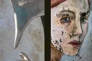 «Entre el color i les formes», pinturas y esculturas de Empar Pínter y Toni Cotillas