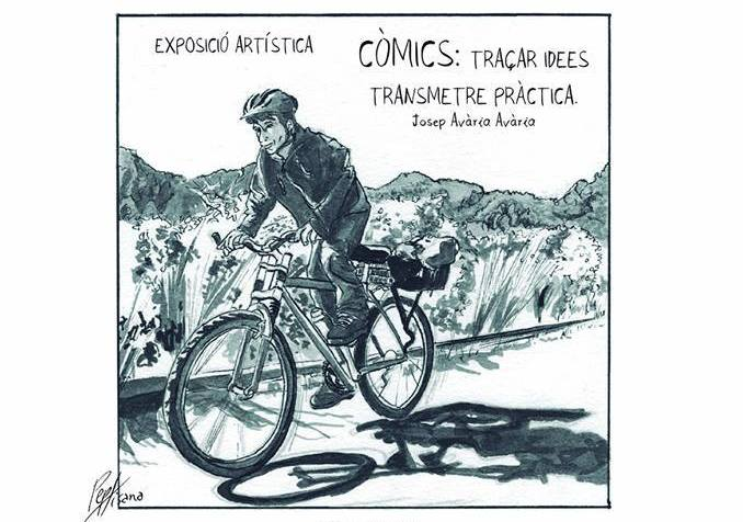 Josep Avària expone «Traçar idees, transmetre pràctica»