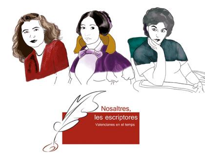 El Claustro de la Biblioteca acoge la exposición «Nosaltres, les escriptores valencianes en el temps»