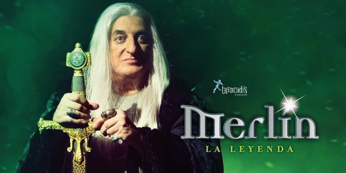 Merlín, la leyenda con Javier Gurruchaga en el Teatre Serrano. Domingo 8 de octubre