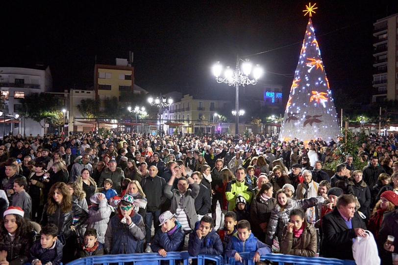 Fiesta de Fin de año en la plaza del Prado