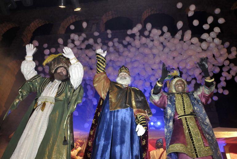 Cabalgata de Sus Majestades los Reyes Magos en Gandia