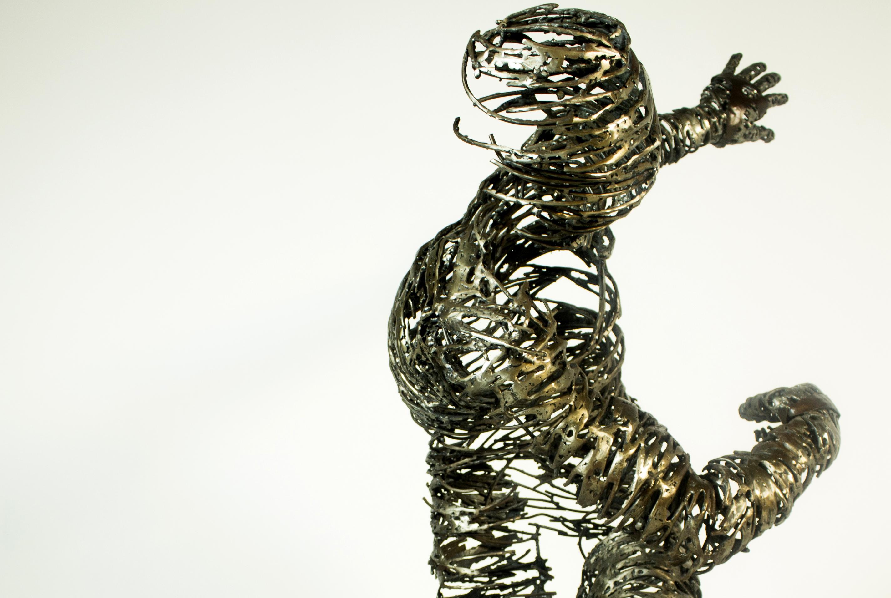 «Fermes arrels», esculturas en forja de Ferran Molió
