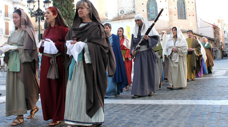 La Visitatio Sepulchri, el legado de los Borja en la Semana Santa de Gandia