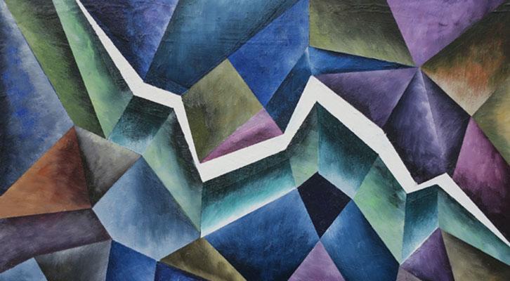 «Abismos», pinturas de Javier Calvo
