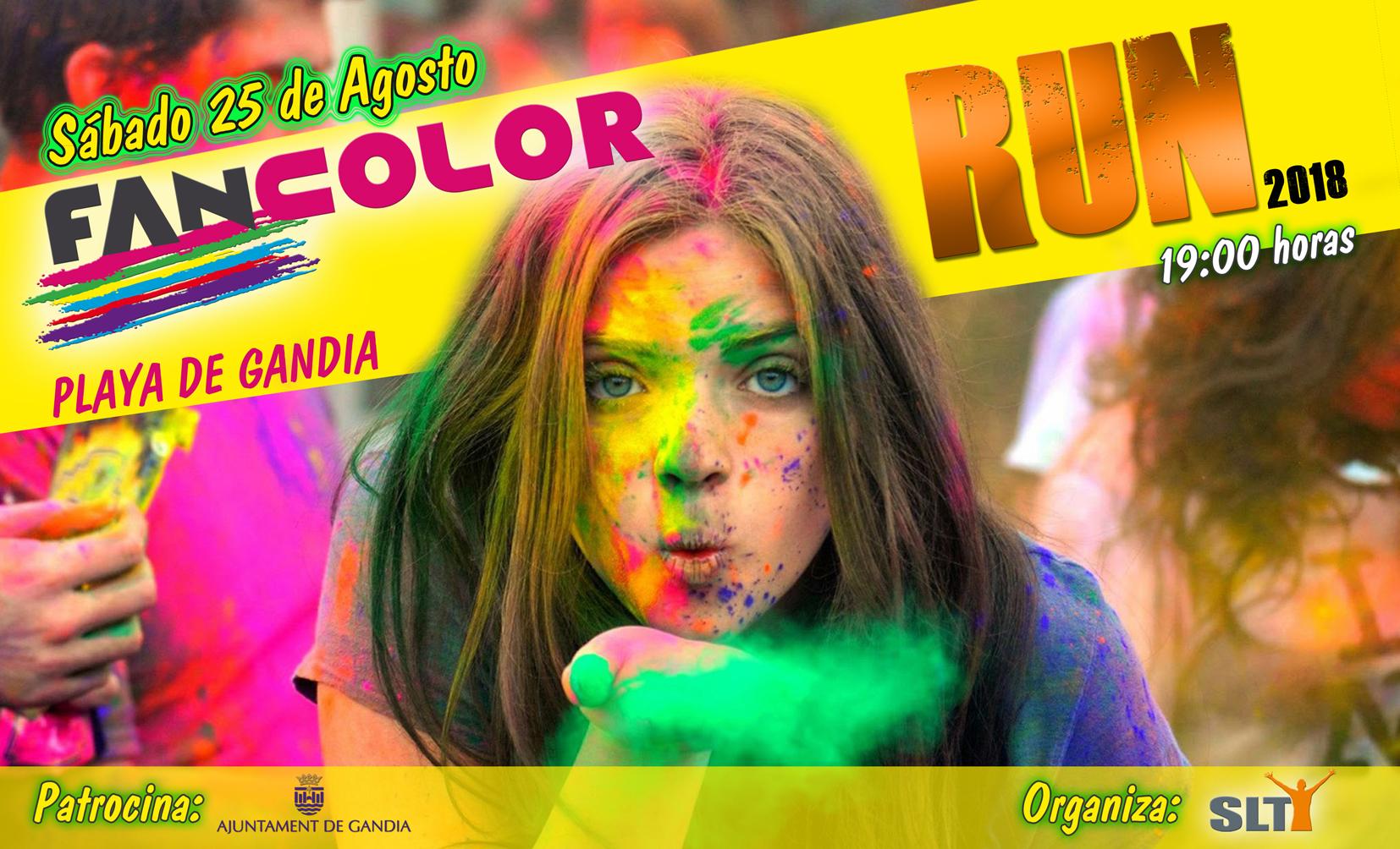 Fan Color Run: deporte, diversión y mucho color