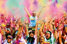 fan color run