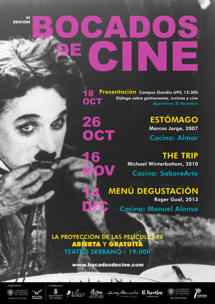 «Bocados de cine», jornadas de cine y gastronomía