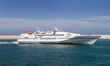 Transmediterránea conectará durante todo el año Gandia con Palma de Mallorca e Ibiza