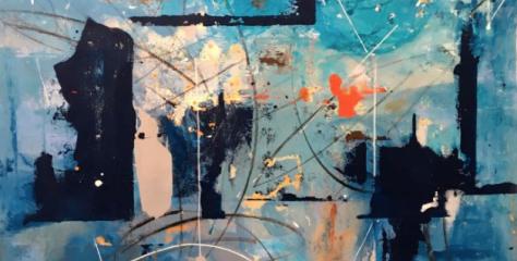 """""""Sana incorrección"""", pinturas de Lu Gorritz"""