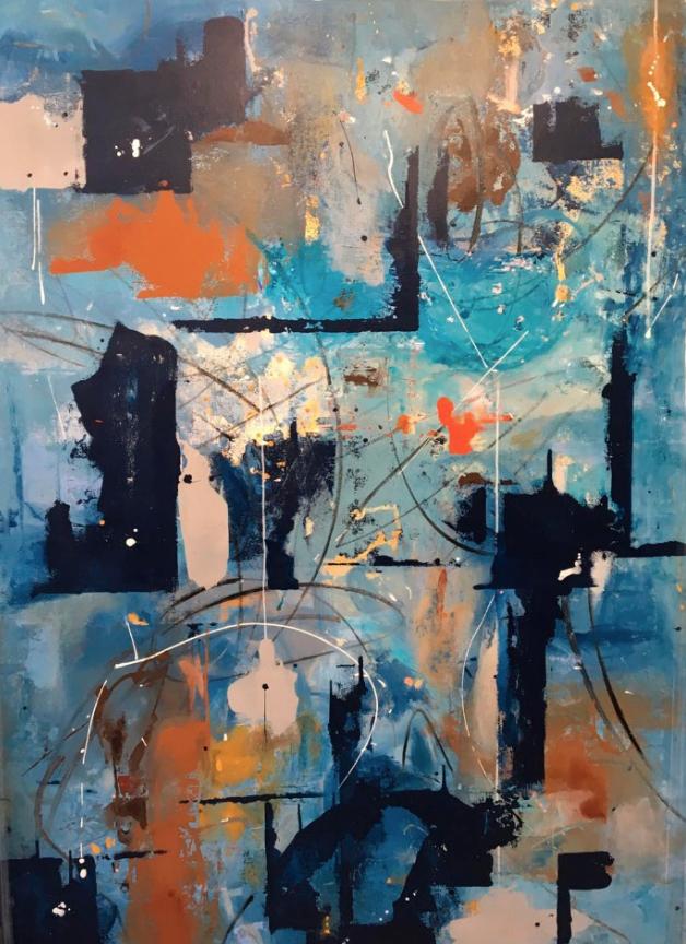 «Sana incorrección», pinturas de Lu Gorritz