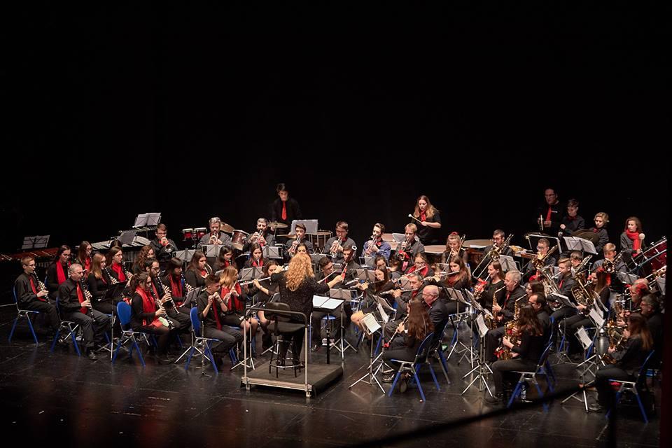 Concierto de Santa Cecilia del Centre Musical de Beniopa