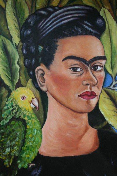 """Mundo Galo"", óleos de Pintora Galo"
