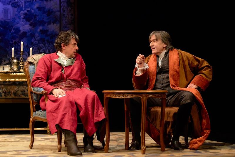 Voltaire / Rousseau – La Disputa, con Josep Maria Flotats y Pere Ponce en el Teatre Serrano