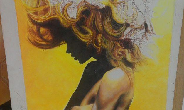 «Lo nuestro», muestra pictórica de fin de curso