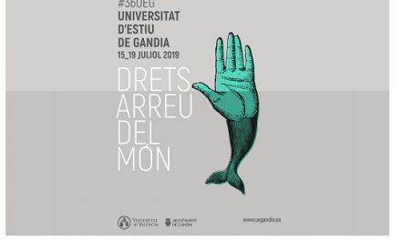 XXXVI Universitat d'Estiu de Gandia