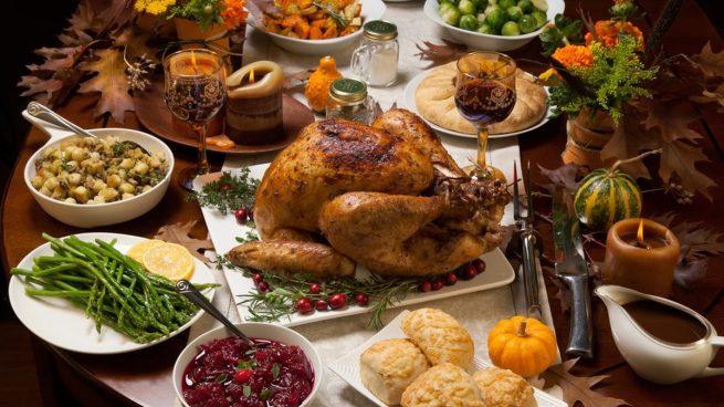 Menú de Acción de Gracias en Restaurante Gran Torino