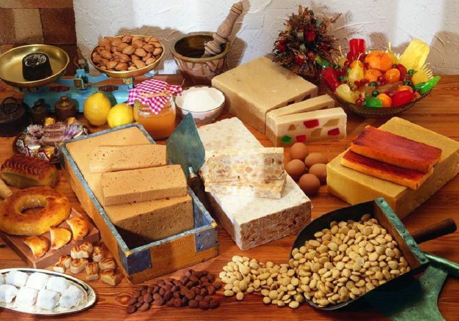 Dulces de Navidad en Fira Mercat Gandia