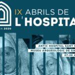 Gandia acogerá el simposio internacional «Els Abrils de l'Hospital»