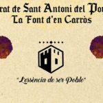La Font d'en Carròs celebra el Porrat de Sant Antoni Abat