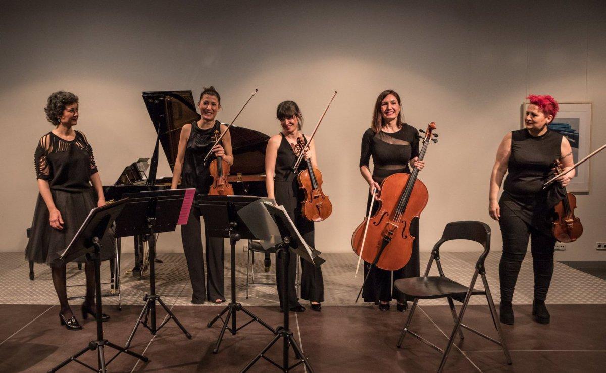 Quinteto Casulana en los Conciertos Pro Música