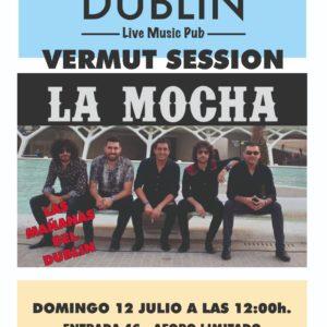 «Vermut Session» en el Pub Dublín con el grupo La Mocha