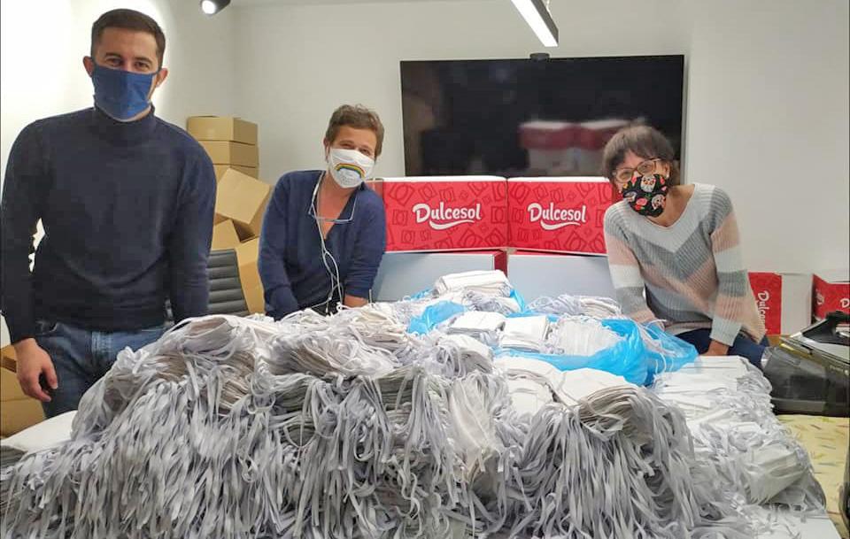 El proyecto «Mascarillas a gogó» logra fabricar 45.000 mascarillas