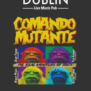 Concierto de Comando Mutante en el Pub Dublín