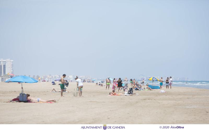 normas usuarios playa gandia