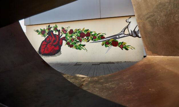 Un mural contra la violencia de género