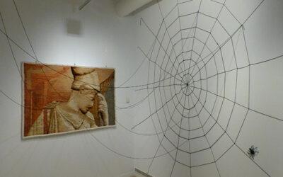 «La trama continua», tapices de Cesc Biosca