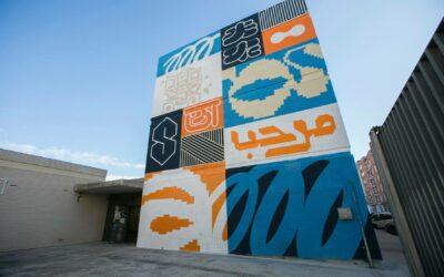 Serpis Urban Art dedica un mural a las lenguas