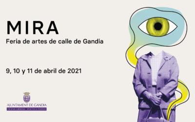 'MIRA, Fira d'Arts al carrer' del 9 al 11 de abril en Gandia