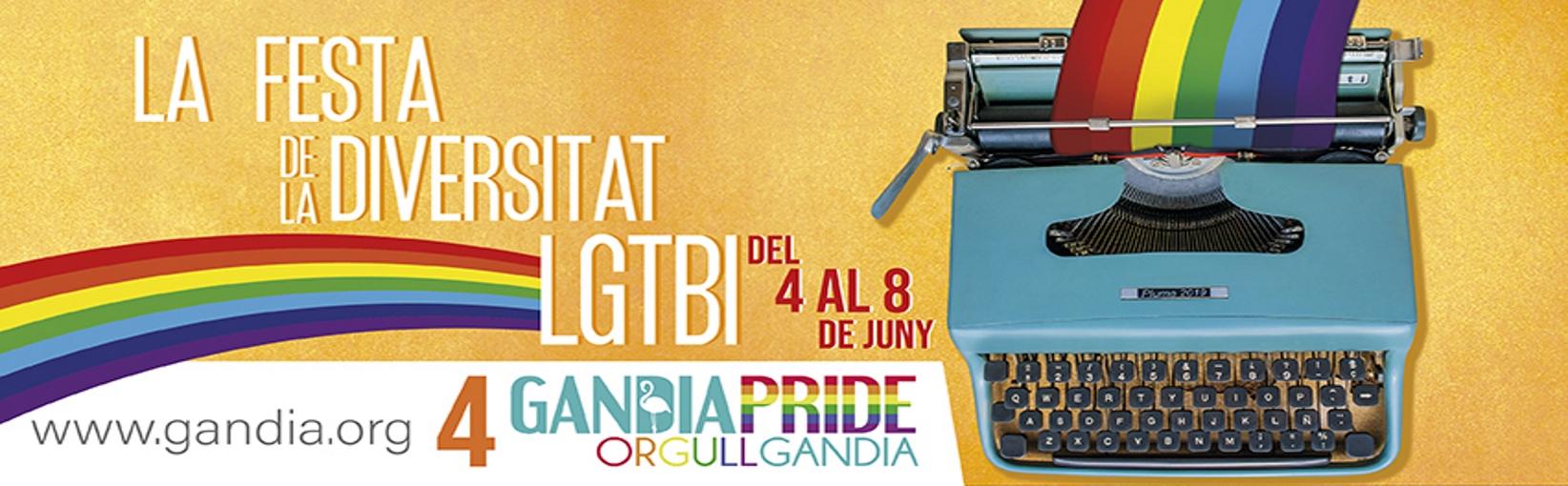 Gandia Pride, la fiesta de la diversidad