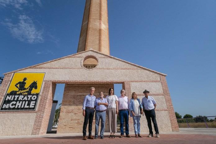 Vicky Foods financia la rehabilitación de la antigua chimenea de «El rajolar»