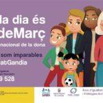 Gandia celebra el Día Internacional de la Mujer