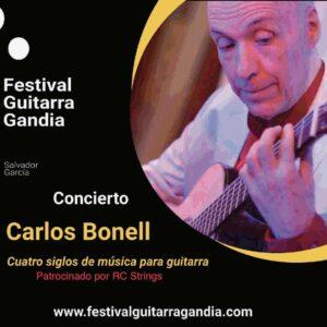 FESTIVAL DE GUITARRA GANDIA: Carlos Bonell
