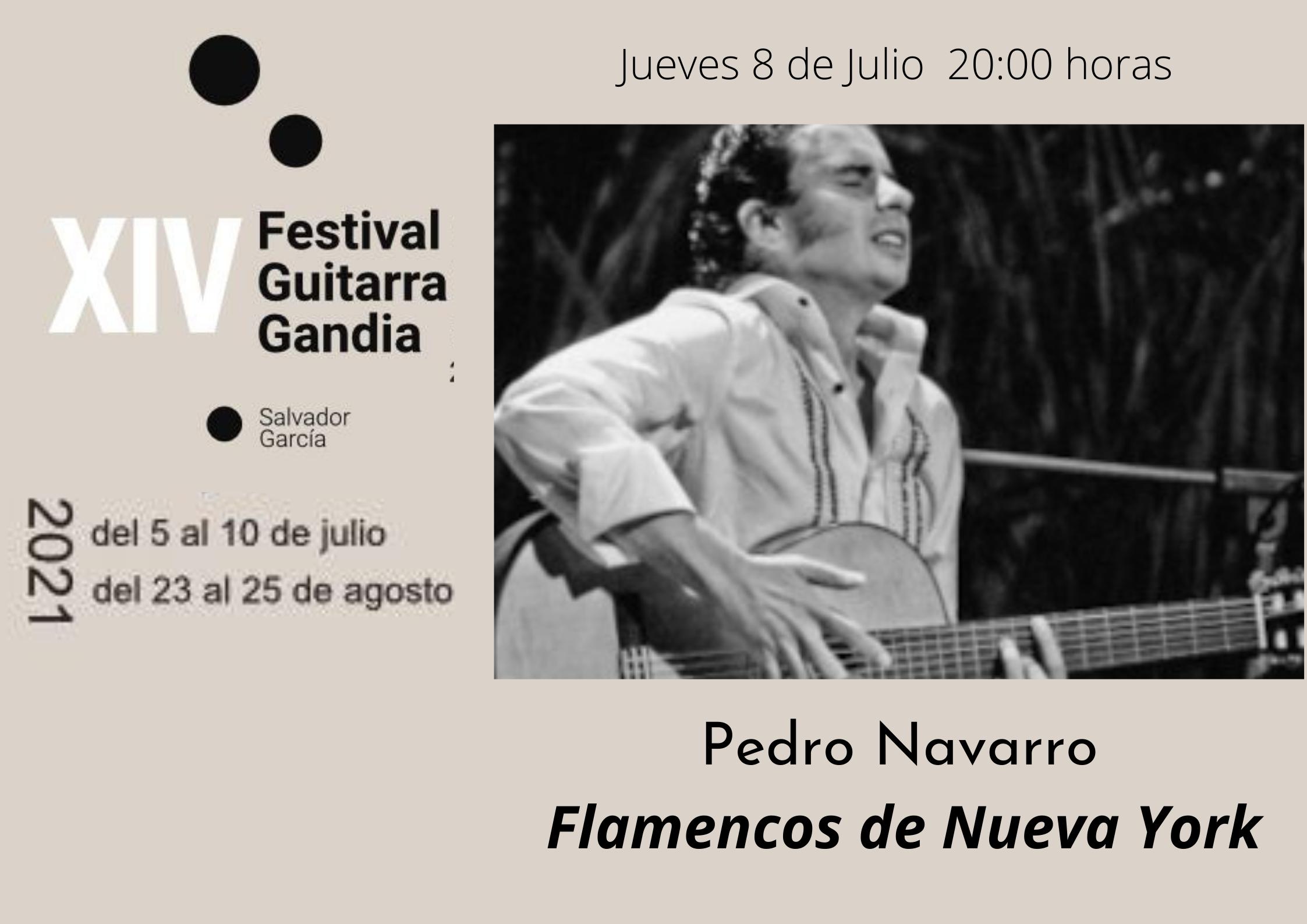 FESTIVAL DE GUITARRA GANDIA: Pedro Navarro