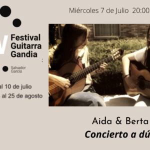 FESTIVAL DE GUITARRA GANDIA: Aida & Berta