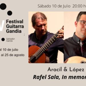 FESTIVAL DE GUITARRA GANDIA: Aracil & López