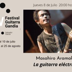 FESTIVAL DE GUITARRA GANDIA: Masahiro Aramaki