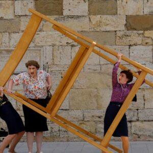 BORJA PORT ART: Cirquet Confetti presenta «A la fresca»